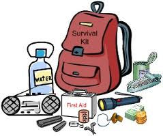 Emergency Backpack and contents