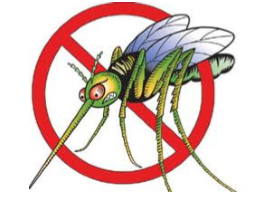 fight the bite mosquito with no sign through it